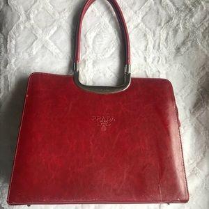 Prada influenced handbag